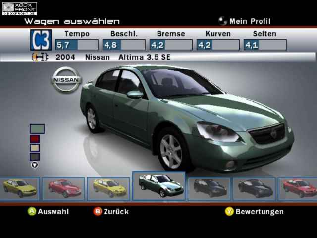 Xbox::ForzaMotorSports Nissan